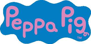 Peppa Wutz Namensaufkleber