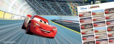 Disney Cars Namensaufkleber