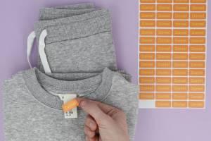 Markieren von Kleidung und Gegenständen