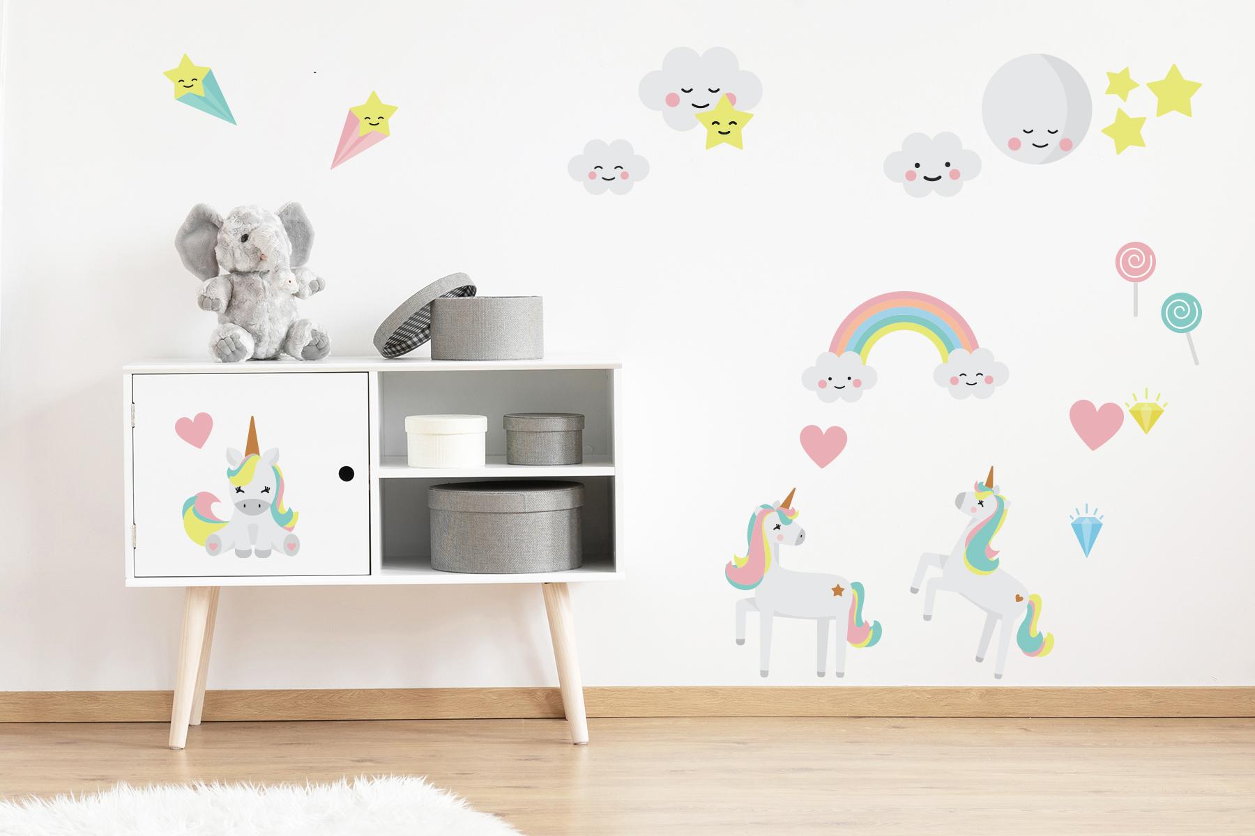 Wandsticker – Magie für das Kinderzimmer