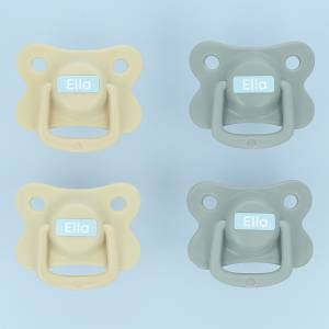 Selbstklebende Mini-Aufkleber für Kleidung und Gegenstände