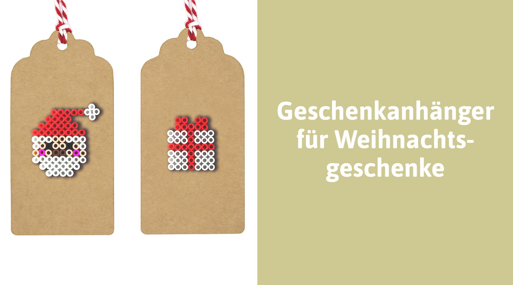 Persönliche Geschenkanhänger für Weihnachtsgeschenke