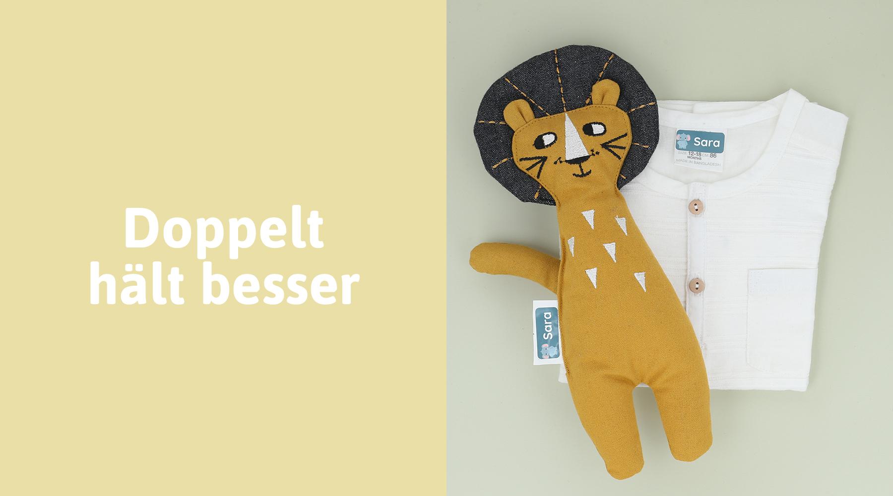 Kindergarten Kleidung mit selbstklebenden Namensetiketten