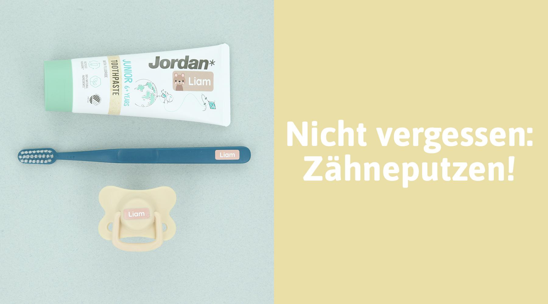 Zahnbürsten für den Kindergarten