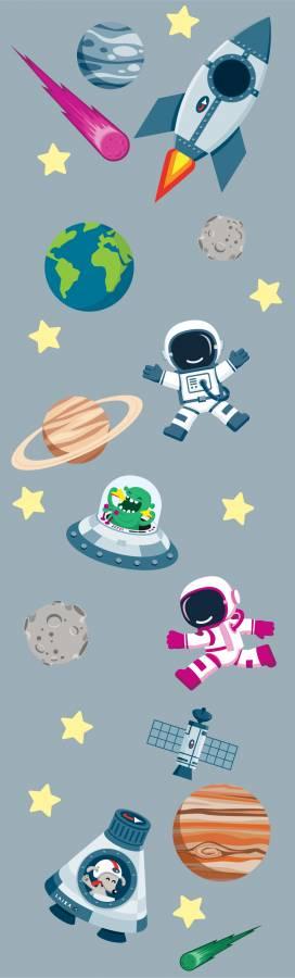 Wandsticker: Weltraum