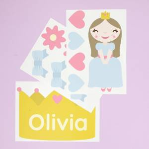 Tür-Sticker Prinzessinnen