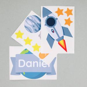 Tür-Sticker Weltraum