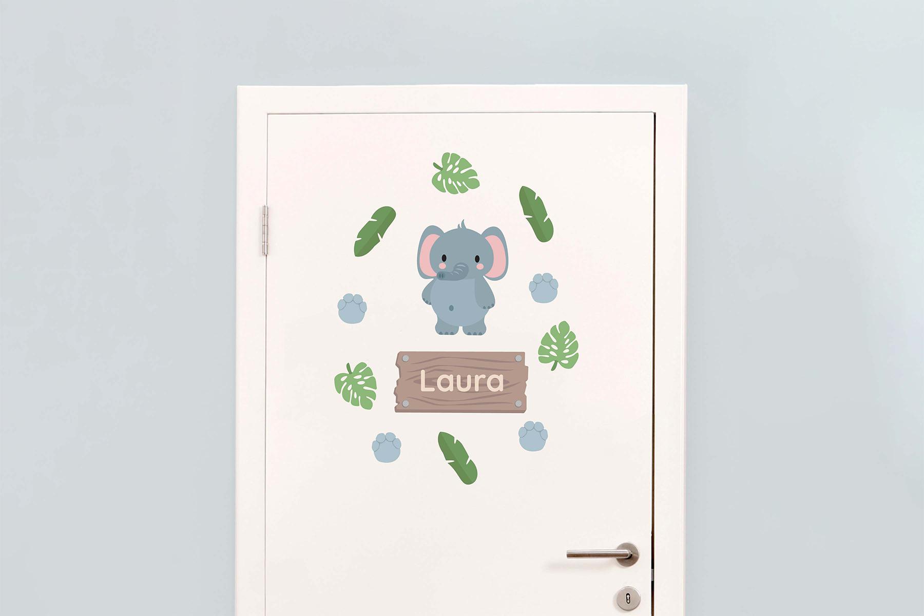 Tür-Sticker